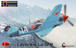 KP Lavochkin La-5FN Soviet Aces 1:144
