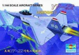 Trumpeter Lockheed YF-22 Lightning II 1:144