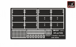 Armory Pz.Kpfw.V Ausf.D/A Panther side skirts 1:72