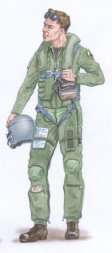 Plusmodel F-16 U.S. Pilot 1:48