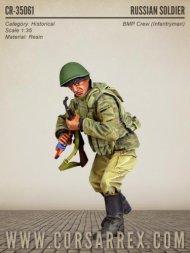 Corsar Rex Russian Soldier (BMP Crew Infantry) 1:35