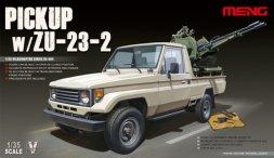 Meng Pickup w/ZU-23-2 1:35