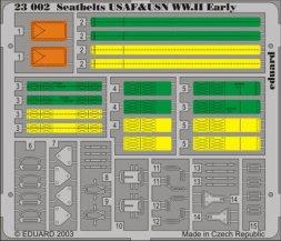 Eduard Seatbelts USAF & USN WWII early 1:24