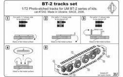 ACE BT-2 tracks set 1:72