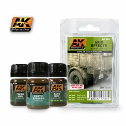 AK Interactive Mud effects set