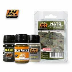 AK Interactive NATO Weathering set