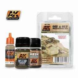 AK Interactive OIF & OEF – US vehicles modern Weathering set