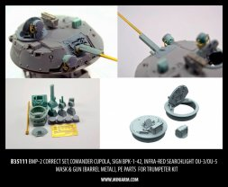 BMP-2 Correct set for tumpeter 1:35