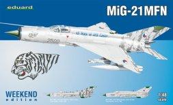 MiG-21MFN - Weekend edition 1:48