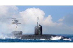 Hobby Boss USS Greeneville SSN-772 1:350