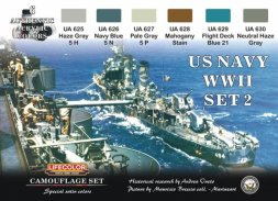 Lifecolor US NAVY WWII Camouflage Set.2