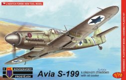 AVIA S-199 with oil cooler 1:72