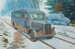 Opel 3.6-47 Omnibus model W39 Ludewig-built, early 1:35