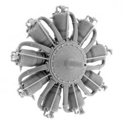 Le Rhône 9C (80 hp) Engine 1:48