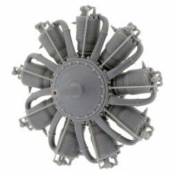 Small Stuff Gnome Monosoupape 9B-2 (100 hp) Engine 1:48