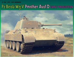 Dragon Pz.Beob.Wg.V Pather Ausf.D Early Production 1:35