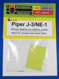 KP Piper J-3/Ne-1 Mask 1:72