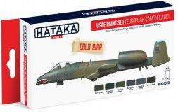 Hataka Hobby USAF Paint Set (European Camouflage)