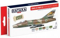 Hataka Hobby Israeli AF paint set (1970s desert colours)