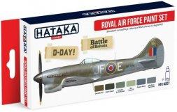 Hataka Hobby Royal Air Force paint set