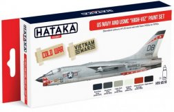 Hataka Hobby US Navy and USMC (high-viz) Paint Set