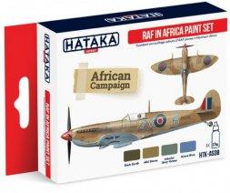 Hataka Hobby RAF in Africa paint set