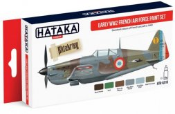 Hataka Hobby French Air Force WW2 early paint set
