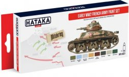 Hataka Hobby French Army 1918 - 1940 paint set