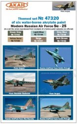 AKAN Russian Modern Air Force - Su-25 (after 2006) paint set