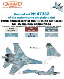 Russian Modern Air Force - Su-27sm (New camouflage)