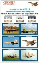 Russian Modern Air Force - Su-27PU, 30PK, 35-1