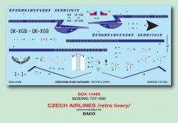 BOA Boeing 737-55S - Czech Retro Livery 1:144