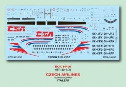 ATR-42-500 Czech Airlines 1:144