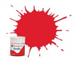 Humbrol 19 - Bright Red Gloss - 12ml Acrylic
