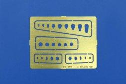 Eduard Oval & oblong covers - Gravierschablone