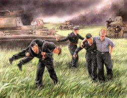 Master Box German Tank Crew, Kursk, 1943 1:35