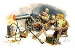 Master Box U.S. Nachine Gunners, Europe, 1944 1:35