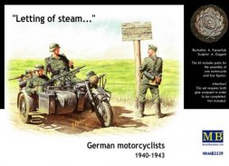 Master Box German motorcyclists 1940-1943 1:35