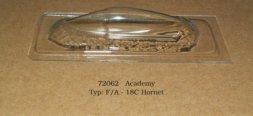 F/A-18C Hornet - vacu canopy for Academy 1:72