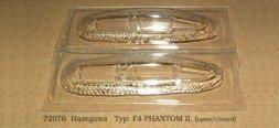 F-4 Phantom II vacu canopy for Hasegawa 1:72