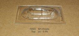 La-5FN vacu canopy for KP/ Zvezda 1:72
