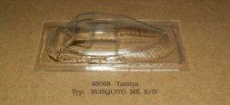 Rob Taurus Mosquito Mk.II/VI vacu canopy for Tamiya 1:48