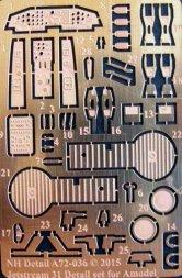 NH Detail Jetstream 31 Detail Set for Amodel 1:72