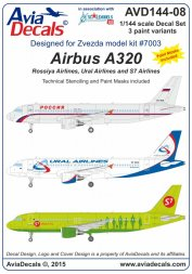 Airbus A320 - Russian Service 1:144