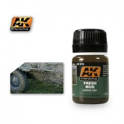 AK Interactive AK016 - Fresh Mud - 35ml