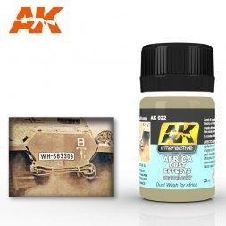 AK Interactive AK022 - Africa Dust Effects - 35ml