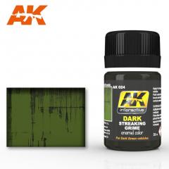 AK Interactive AK024 - Dark Streaking Grime - 35ml