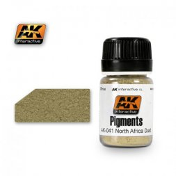 AK Interactive AK041 - North Africa dust pigment