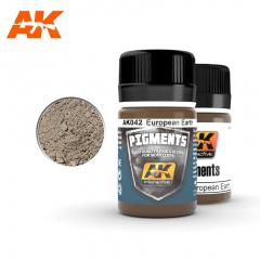 AK Interactive AK042 - European earth pigment