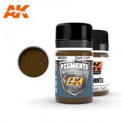 AK Interactive AK081 - Dark earth pigment
